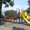 鷺沼公園(さぎぬまこうえん):大型遊具なんだけど小さい子向け。身近に大きな遊具を楽しめる公園 [たまプラーザ]
