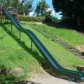 ロングすべり台のある公園、たまプラーザ駅から5分 [新石川公園:青葉区]