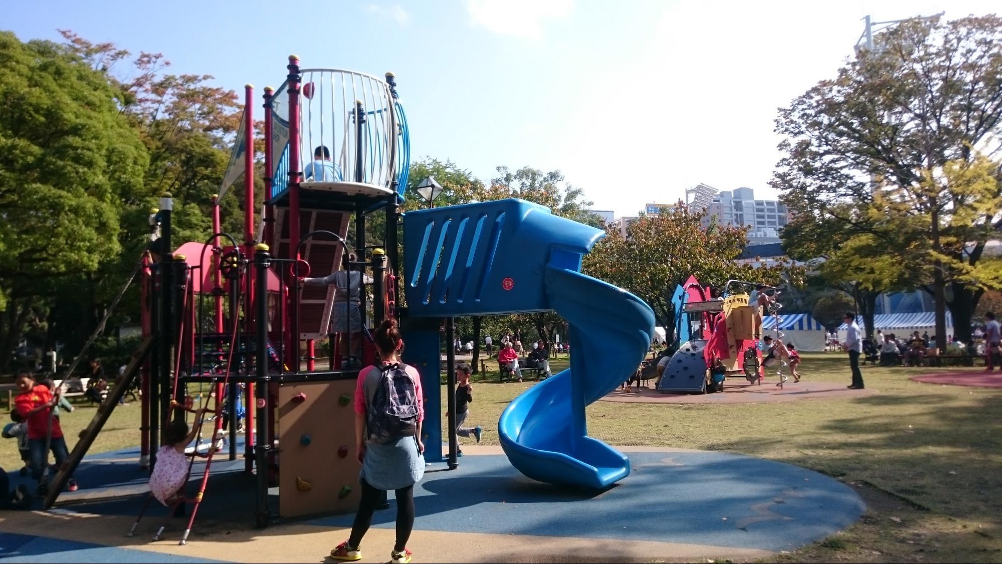 南区のママが行く、広くて遊びやすい公園。Best5 [ママレポ ...
