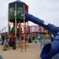 大和ゆとりの森:まるで「遊具のテーマパーク」。広大な芝生に水遊び、バーベキュー場も。一日遊んでも足りません。[大和市]