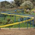 金沢自然公園(金沢動物園):巨大遊具、ロングすべり台、動物園にバーベキュー。1日遊べる公園はクルマで大人数で行きやすい [金沢区]
