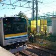 入船公園:鶴見線に乗って遊びに行きたい!珍しい電車と広い芝生広場。シーソーのある穴場公園(鶴見区)