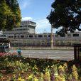 反町公園は、横浜駅西口から歩いても行ける穴場。電車も見えて、スケート場もお隣です。[東横線反町駅 JR線東神奈川駅]