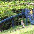 東方公園:プールの後にロングすべり台!都筑プールから歩いて行かれるロングすべり台。穴場公園への行き方はこちら。[都筑区]