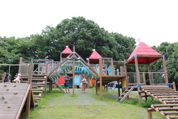 平塚市総合公園:横浜から30分!超大型遊具に、トトロ風の ...