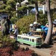 ミニSLに乗れる!本物のSLにも会える、触れる穴場スポット!「鵠沼運動公園(八部公園)」:藤沢市
