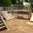 二ツ橋南公園・二ツ橋公園:森林の中にあるミニアスレチックと自然遊びを満喫できる二ツ橋南公園!きれいに整備された二ツ橋公園[瀬谷区]