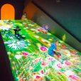 チームラボ 学ぶ!未来の遊園地(ららぽーと湘南平塚3F):寒い日でも体を使って遊べる新体験。平日は混雑少なめで乳幼児さんにもおすすめです!11月は光のワークショップ!【オトクなあそびい特別クーポンつき】