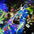 チームラボ 学ぶ!未来の遊園地(ららぽーと湘南平塚3F):体を使って遊べる新体験。9月は毎日ワークショップ、マラカス&ランプシェードづくり!屋内で楽しい【オトクなあそびい特別クーポンつき】