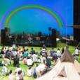 """屋内で、0歳から参加できる""""夏フェス""""がGW後半に!0-1才無料、2才~中学生まで500円。劇場がキャンプ場になる、昨年の大人気イベント開催。[5/3-5/6 キッズ・サマー・パーティー2019 山下公園近くKAAT ]"""