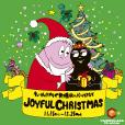 バーバパパとクリスマス!7日8日はスクイーズづくり。無料で楽しめる撮影スポットに、小さなお子さんと楽しめる工作いっぱい。新横浜駅直結キュービックプラザで。工作はレシートだけで参加できて、当日参加OK![開催中]