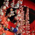 センター北駅近くの都筑民家園でひな飾り[2月20日〜3月3日、写真レポート]