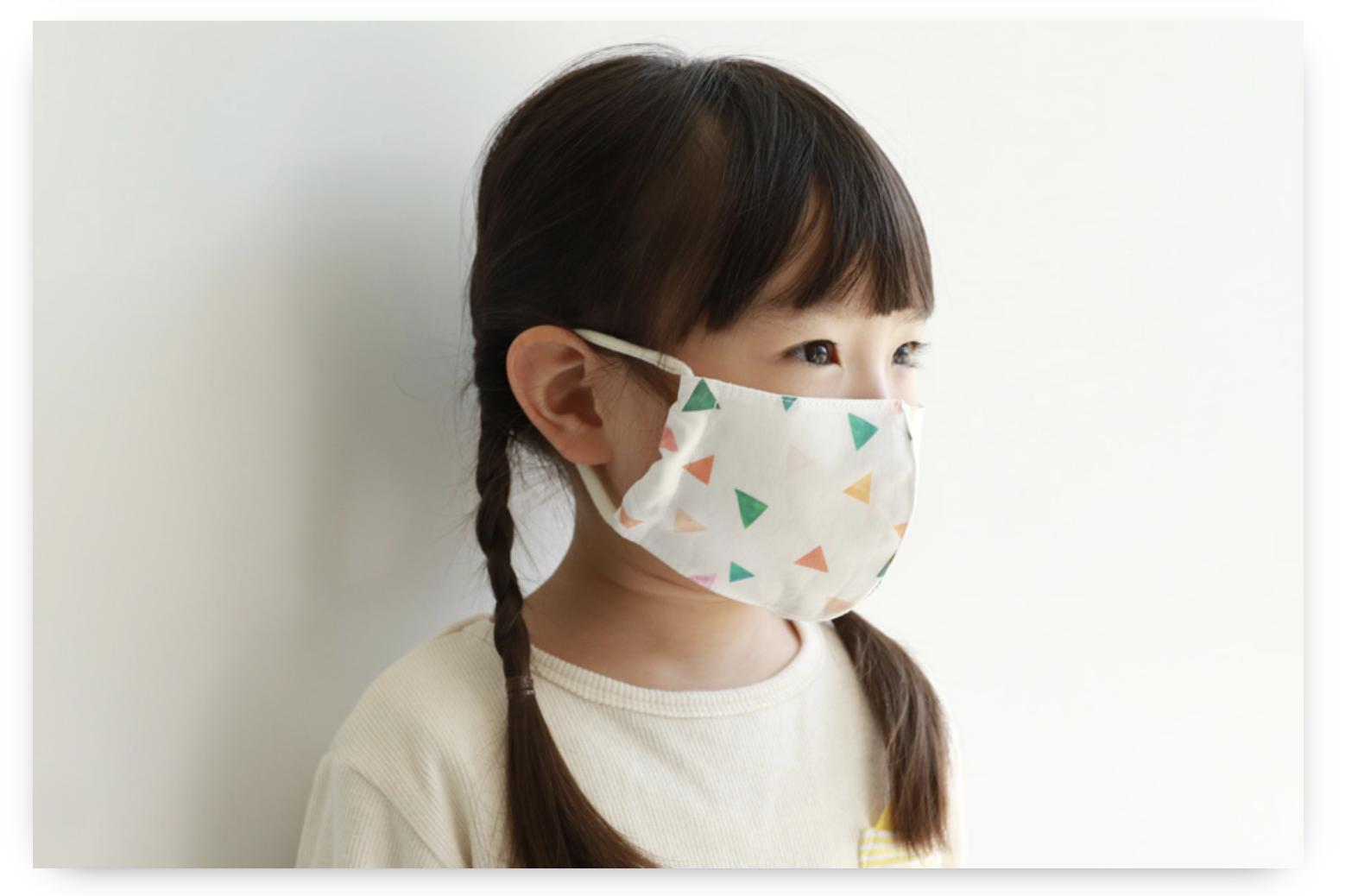 マスク 型紙 手作り 子供